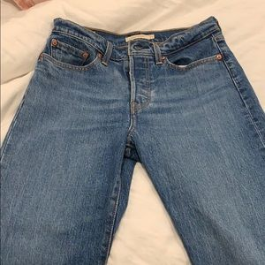 Levi's Jeans - Levi's straight wedgie jeans